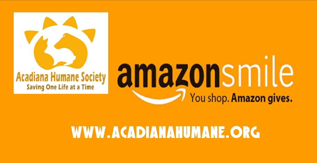 Shop Amazon.com with Acadiana Humane Society!